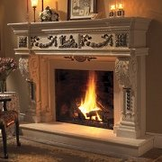 Carved in stone fireplace mantels broad and timeless appeal for Timeless fireplace designs