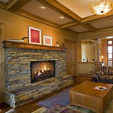 Contemporary Craftsman Fireplace Hearths A New Twist