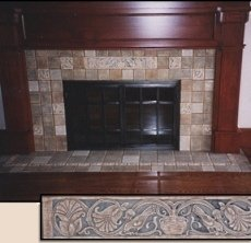 Standout Fireplace Tile Designs Signs Of Their Times