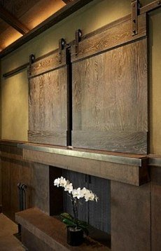 Flat Screen TV Over Fireplace Designs . . . To Hide Or Not ...