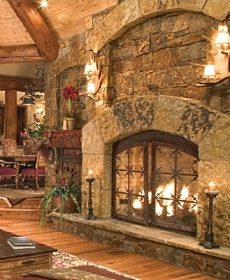 Standout Stone Fireplace Pictures Extra