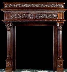 WESTLAND LONDON Extraordinary Antique Fireplace Mantels