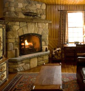 Corner Fireplace Design Ideas . . . Rock Solid!
