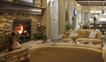 Manufactured Stone Fireplace Photo Gallery Of Ideas