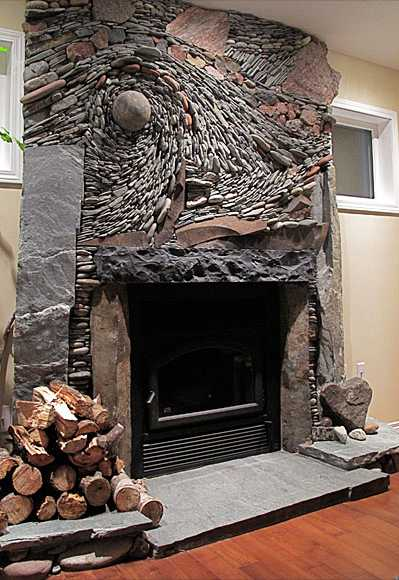 Ideas For Building A Fireplace That Really Rocks!