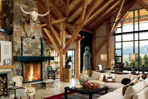 Fireplace Stone Ideas Rugged And Rustic Yet Refined