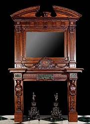 Standout Antique Fireplace Mantels Gilded Age Glory