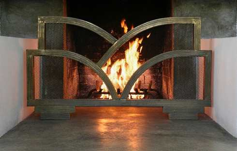 The antique fireplace screen designs featured here are highly unusual and very distinctive. If you