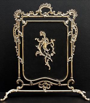 antique fireplace screens