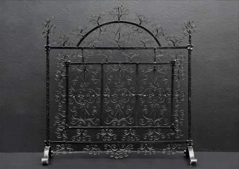 antique fireplace screens extraordinarily elegant ember enclosures rh standout fireplace designs com