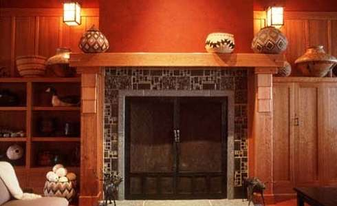 Arts And Crafts Fireplaces More Finely Crafted Fire Spaces