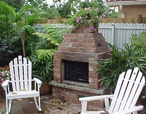 backyard fireplaces