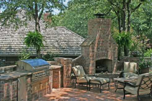 How to Build a Outdoor Grill With Brick How to Build a Temporary Brick