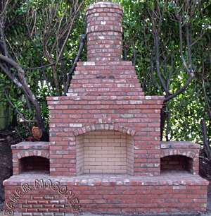 Brick Patio Designs for Fireplaces . . . Brackets and ... on Brick Outdoor Fireplace Ideas id=93288