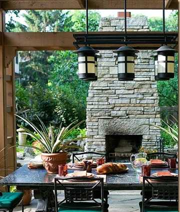 Fireplace Design Ideas 06 How To Build An Outdoor Fireplace With Dry Stacked Stone