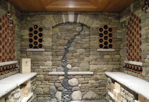 When building a stone fireplace