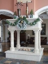 cast and manufactured stone fireplaces