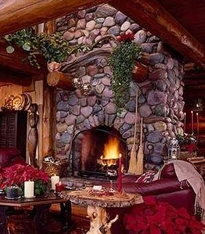Christmas Fireplace Pictures Spruce Up Your Stone