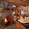 corner fireplace designs