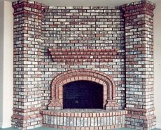 corner fireplace designs