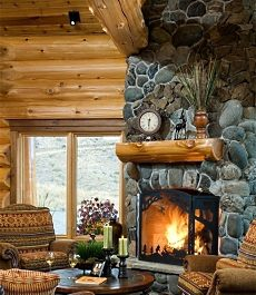 RUSTIC OUTDOOR FIREPLACE DESIGN IDEAS, PICTURES, REMODEL