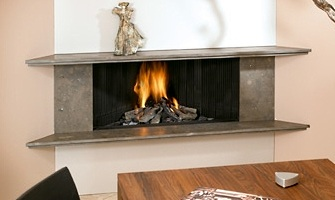 for example many of the metal contemporary fireplaces are vent free