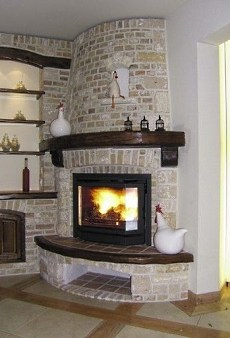 corner fireplace mantel design ideas pictures remodel