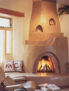corner gas fireplace