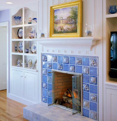 Cottage Fireplaces . . . Simply Charming!