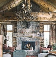 Cowboy Country Stone Fireplaces . . . A Roundup Of Exceptional ...