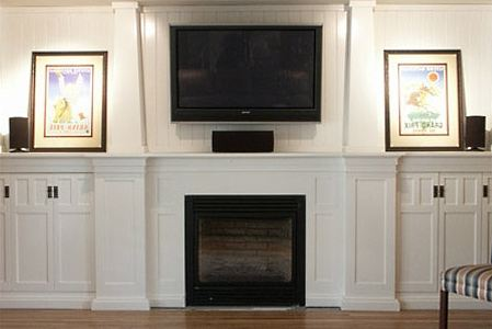 Craftsman fireplaces more standout fire spaces for Craftsman gas fireplace