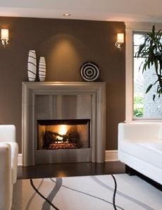 custom fireplace mantels