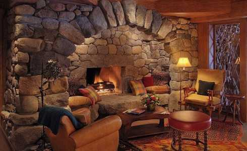 giant fieldstone fireplace | Dry Stack Stone Fireplaces...Superb Craftsmanship ...