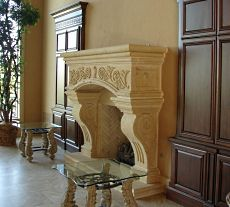 The Faux Stone Fireplace Extraordinary Custom Designs