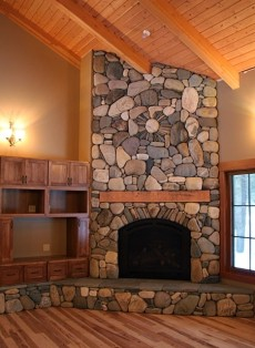 fireplace design idea