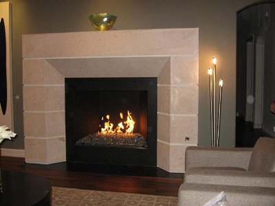 modern and traditional fireplace design ideas 1 artificial stone gas fireplace design ideas - Fireplace Design Ideas