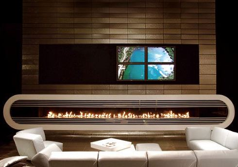 Cutting Edge Fireplace by Attika Feuer