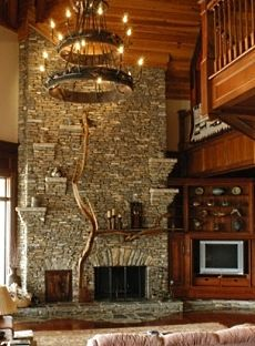Stone Fireplace Mantel Ideas . . . Inspiring And Enlightening!
