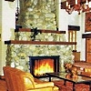 fireplace mantel shelf