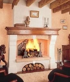 fireplace mantel shelves