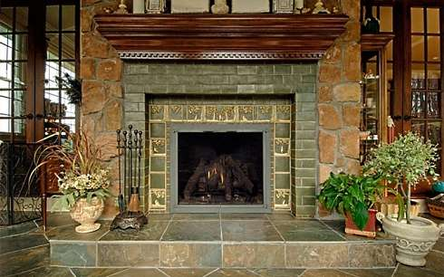 fireplace mantel shelves