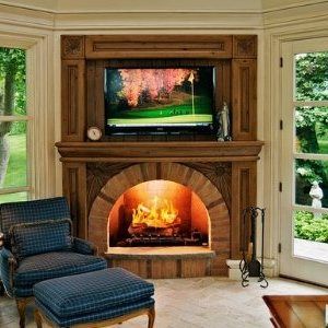 Wood Fireplace Mantel Surrounds Rustic To Country Casual