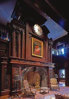 fireplace mantels wood