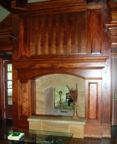 Fireplace Mantels Wood . . . Extraordinary Custom Designs!