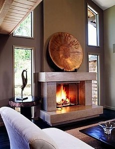 Contemporary Fireplace Mantle Designs Shape Shifters