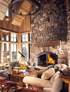 fireplace pictures stone