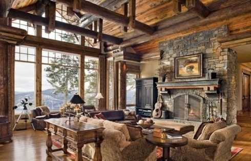 Fireplace Stone Ideas.....Rugged And Rustic...Yet Refined!