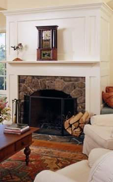 fireplace surround design