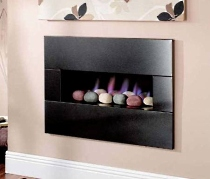 stonewall fireplace