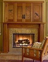 fireplace tile designs